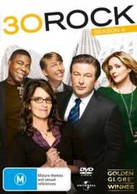 30 Rock: Season 4 (DVD) - Cover