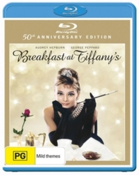Breakfast at Tiffany's (Blu-ray) - Cover