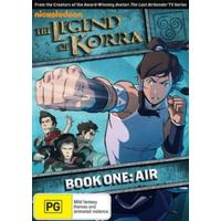 Legend Of Korra: Book One: Air (DVD)