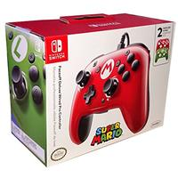 PDP - Faceoff Deluxe Wired Pro Controller - Super Mario Edition (Nintendo Switch)