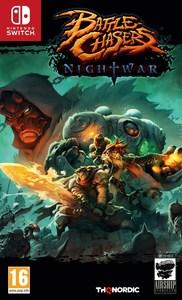 Battle Chasers: Nightwar (Nintendo Switch) - Cover