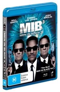 Men in Black 3 (Blu-ray) - Cover