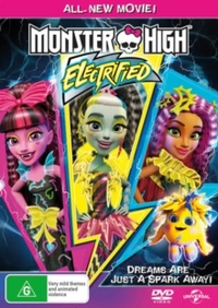 Monster High: Electrified (DVD) - Cover