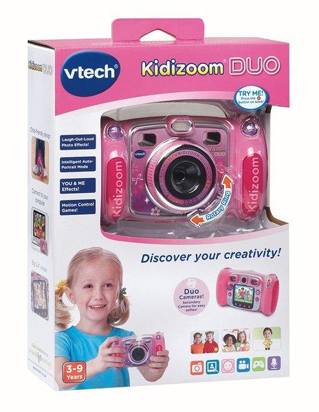 Vtech Kidicom Kidizoom Duo Camera Pink Hobbies Toys Online