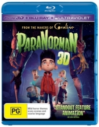 ParaNorman (Blu-ray) - Cover