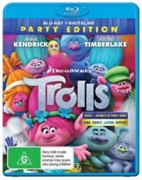 Trolls (Blu-ray) - Cover