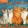 Ivory Cats Wall Calendar 2019 (Art Calendar) (Calendar)