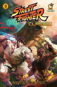 Street Fighter Classic 3 - Ken Siu-Chong (Paperback) - Cover