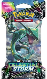 Pokémon TCG - Sun & Moon: Celestial Storm Sleeved Booster (Trading Card Game) - Cover