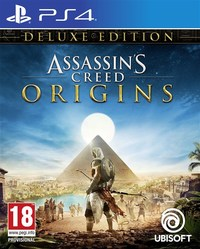 Assassin's Creed Origins - Deluxe Edition (PS4) - Cover