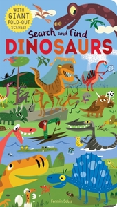 Search and Find: Dinosaurs - Libby Walden (Novelty book) - Cover