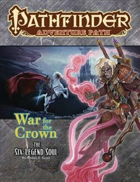 Pathfinder Adventure Path - The Six-legend Soul (Role Playing Game) - Cover