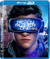 Ready Player One (3D Blu-ray) - Cover