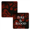 Game of Thrones - Targaryen Lenticular - Single Coaster