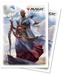 Ultra Pro - Magic: The Gathering Dominaria - Teferi, Hero of Dominaria (80 Sleeves) - Cover