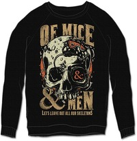 Of Mice & Men - Leave Out Mens Black Sweatshirt (Medium) - Cover