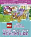 Lego Disney Princess Build Your Own Adventure - Tim Johnson (Hardcover)