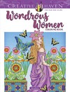 Creative Haven Wondrous Women Coloring Book - Marty Noble (Paperback)