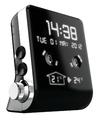 Bigben Interactive - Thomson - Mini Clock-Radio - Black CT390