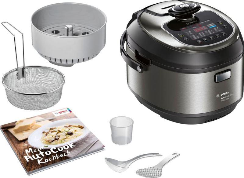 Bosch - AutoCook Multi-Cooker (Metallic Black)