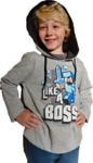 Minecraft - Like a Boss - Youth Hoodie - Grey (8-9 Years) (Small)