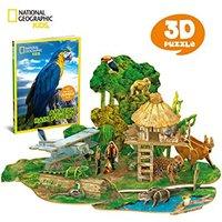 CubicFun - Amazon Rain Forest 3D Puzzle (67 Pieces) - Cover