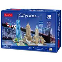 CubicFun - City Line New York City 3D Puzzle (123 Pieces)