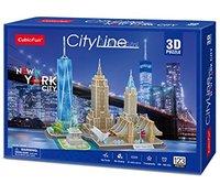 CubicFun - City Line New York City 3D Puzzle (123 Pieces) - Cover