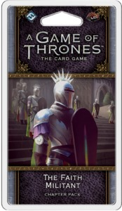 A Game of Thrones: The Card Game (Second Edition) - The Faith Militant Chapter Pack (Card Game) - Cover
