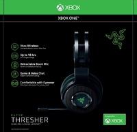 Wireless Headphones w// Retractable Microphone NEW Razer Thresher for Xbox One