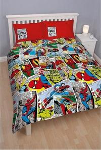 Marvel Comics - Crop Rotary Duvet (Double) - Cover