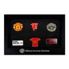 Manchester United 6 Piece Badge Set Cover