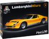 Italeri - 1/24 - Lamborghini Miura (Plastic Model Kit)
