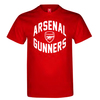 Arsenal Gunners Mens Red T-Shirt (Large)