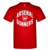 Arsenal Gunners Mens Red T-Shirt (Small)