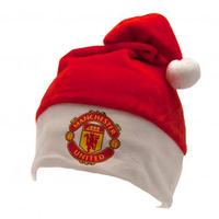 Manchester United Christmas Crest Hat - Cover