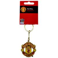 Manchester United Crest Keyring - Cover