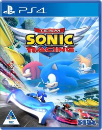 Team Sonic Racing (PS4) - Cover