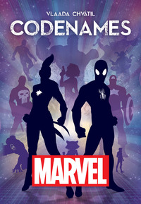 Codenames - Marvel Edition (Card Game) - Cover
