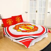 Manchester United Reversible Pulse Duvet Set (Double) - Cover