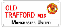 Manchester United Street Sign - Cover