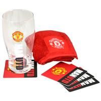 Manchester United Wordmark Mini Bar Set - Cover
