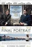 Final Portrait (Region 1 DVD) - Cover
