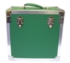 Green - 50 LP Record Storage Carry Case (Record Box)