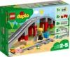 LEGO DUPLO® Town - Train Bridge and Tracks (26 Pieces)