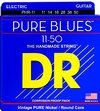 DR PHR-11 Pure Blues Series 11-50 Heavy Pure Nickel Electric Guitar Strings