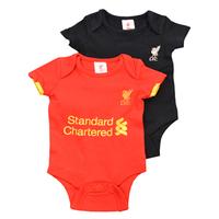 Liverpool - Club Crest & Logo 2PK Bodysuit 16/17 (12/18 Months) - Cover
