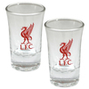 Liverpool - Club Crest Shot Glass (Pack of 2)