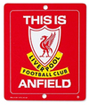 Liverpool - Club Crest 3D Logo Window Sign Cover