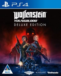 Wolfenstein Youngblood - Deluxe Edition (PS4) - Cover